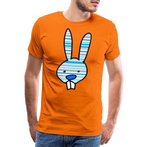 konijn cartoon - Mannen Premium T-shirt