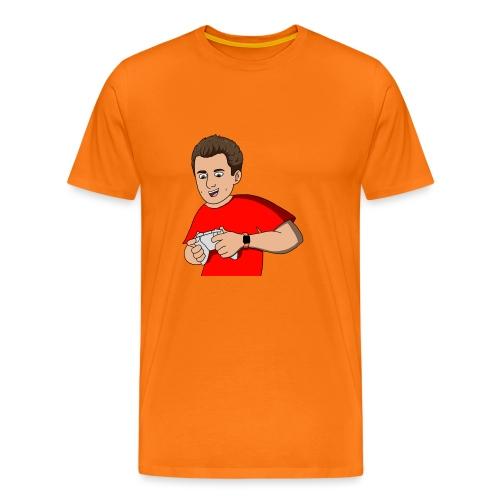 Cartoon Gam3r4Fun red - Men's Premium T-Shirt