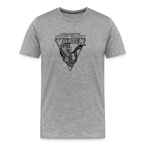 Vortex 1987 2019 Kings Island - Miesten premium t-paita