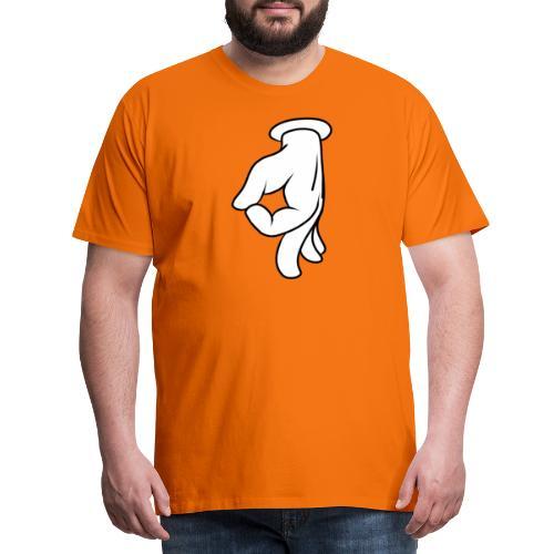 Arschloch - Männer Premium T-Shirt