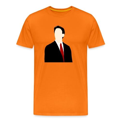 Ed Miliband silhouette - Men's Premium T-Shirt