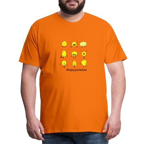 9 smilies - Männer Premium T-Shirt