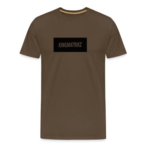 kingmatrikz - Herre premium T-shirt