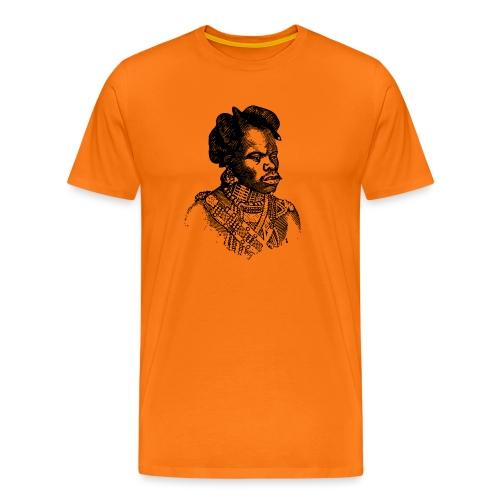 zulu man png - T-shirt Premium Homme