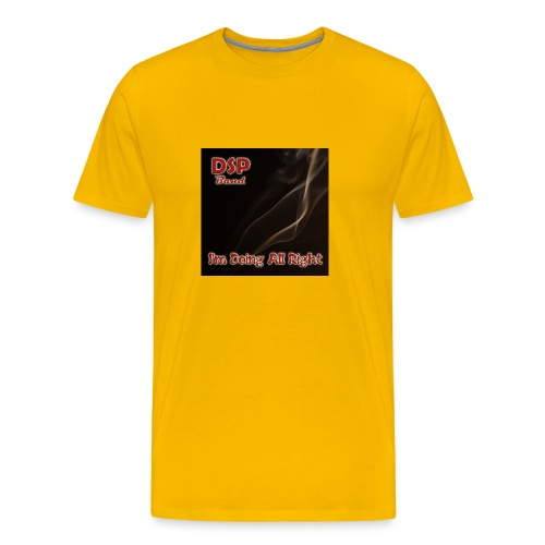 DSP band - All Right - Men's Premium T-Shirt