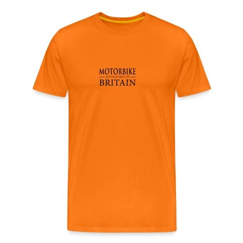 MotorBikeAdventuresBritain - Men's Premium T-Shirt