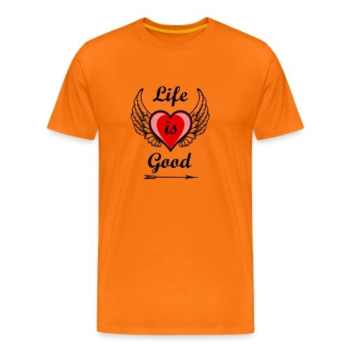 Lifeisgoods - Männer Premium T-Shirt