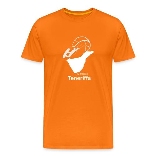 Kitesurfer Teneriffa - Männer Premium T-Shirt