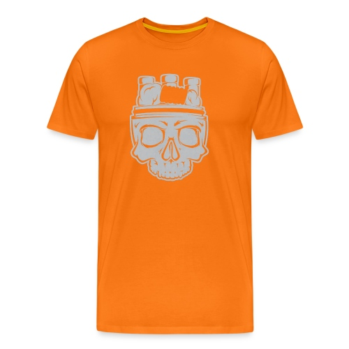 VAPE SKULL - Koszulka męska Premium