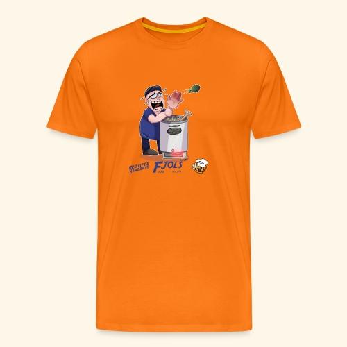 Fjols - Herre premium T-shirt