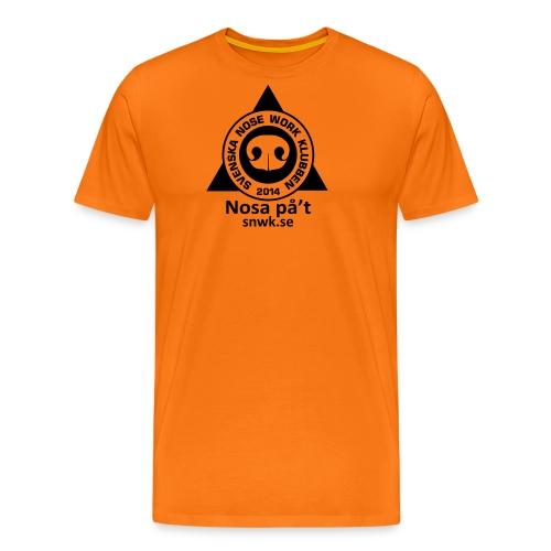 SNWKenfargtext - Premium-T-shirt herr