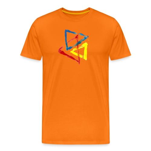 Geometric - Maglietta Premium da uomo