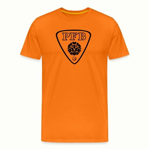 NEW LOGO PFB noir et blan - T-shirt Premium Homme