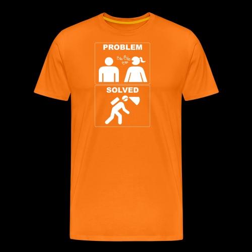 problemsolved - Maglietta Premium da uomo