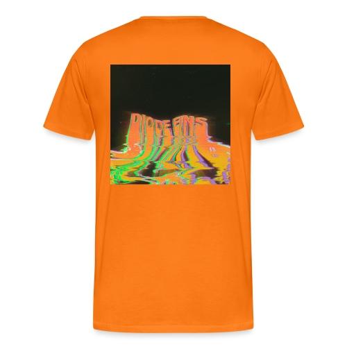 Funky Orange - Männer Premium T-Shirt