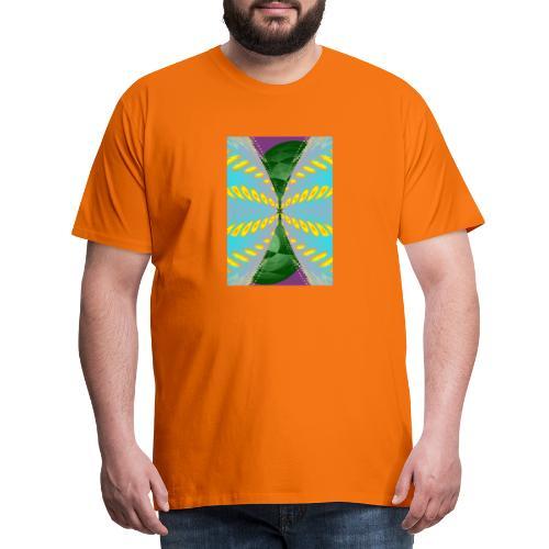 Tornado, Abstract art, Abstract Expressionism - Männer Premium T-Shirt