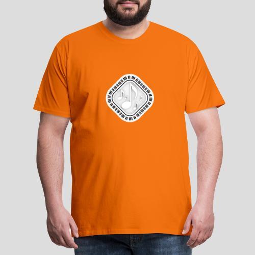 Eckige Klaviatur - Männer Premium T-Shirt