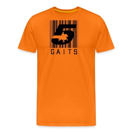 5gaitsBarcode 1 - Men's Premium T-Shirt