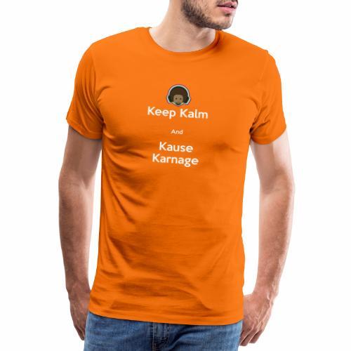 Keep Kalm - Men's Premium T-Shirt