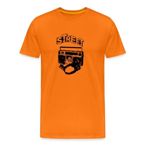 street 1 - Herre premium T-shirt