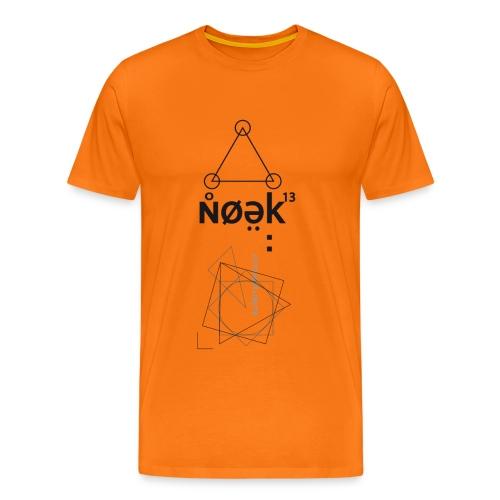 VEYM Noek13 BLACK - Männer Premium T-Shirt