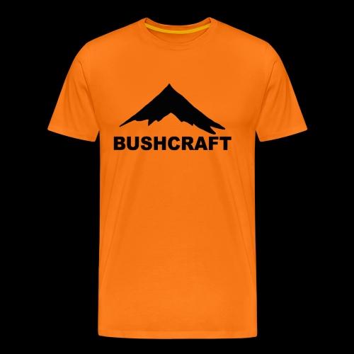 outdoor bushcraft wandern camping survival natur - Männer Premium T-Shirt