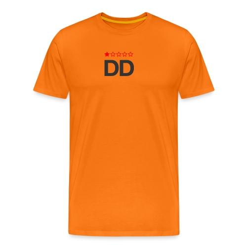 Dårligdommerne simpelt logo - Herre premium T-shirt
