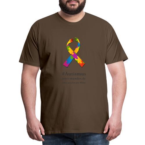 Inter-Mundos Autismus-Schleife - Männer Premium T-Shirt