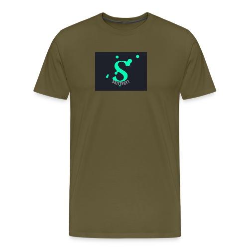 skitterYT - Premium-T-shirt herr