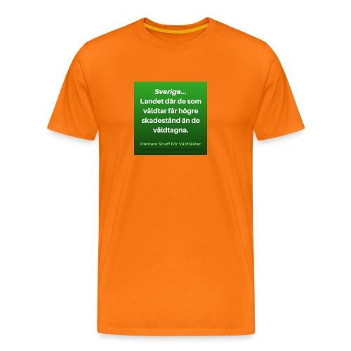 I_Sverige_la--ter_vi_va--ldta--ktsma--n_ga--_fria- - Premium-T-shirt herr