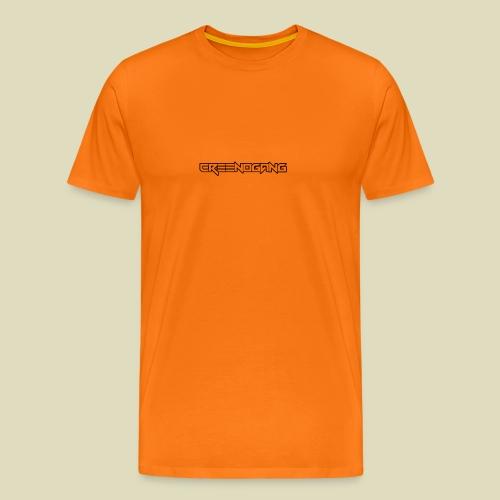 CreeNoGangSchriftzug - Männer Premium T-Shirt