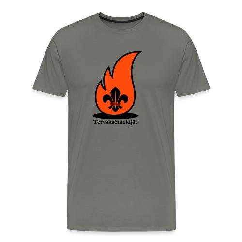 Terte lieskalogo mustaora - Miesten premium t-paita