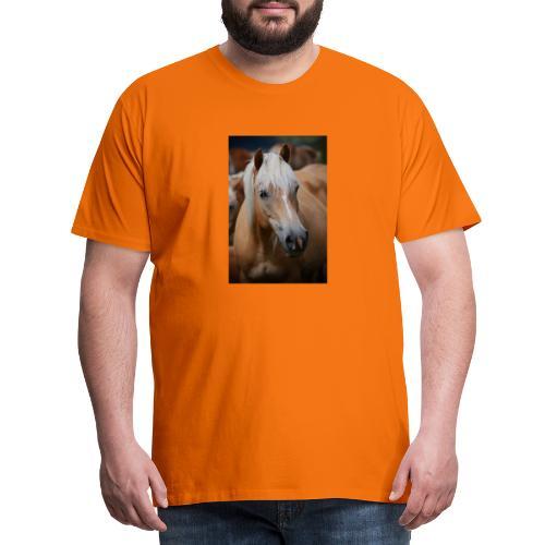 Haflinger - Männer Premium T-Shirt