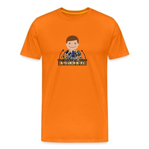 Spillminister logoen - Premium T-skjorte for menn