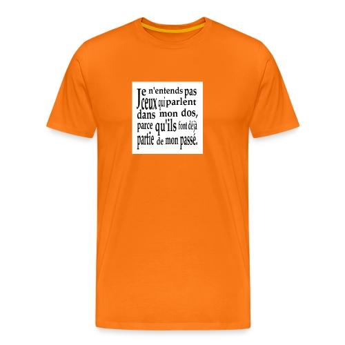 Cadeau amusant pour faux-ami - Männer Premium T-Shirt