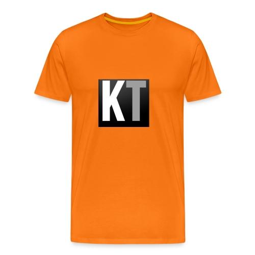 KT iPhone edition phone case - Men's Premium T-Shirt