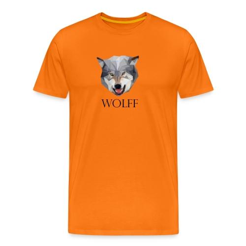 Wolff tshirt Ladies - Mannen Premium T-shirt
