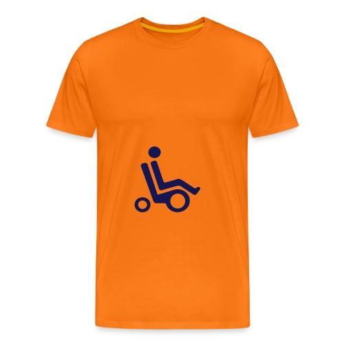 Elektrisk rullestol - Premium T-skjorte for menn