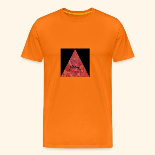 Moons rojo tri - Camiseta premium hombre