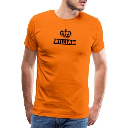 king william - Men's Premium T-Shirt