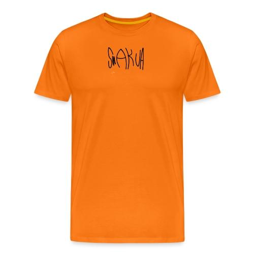 Swakua Logo - Miesten premium t-paita