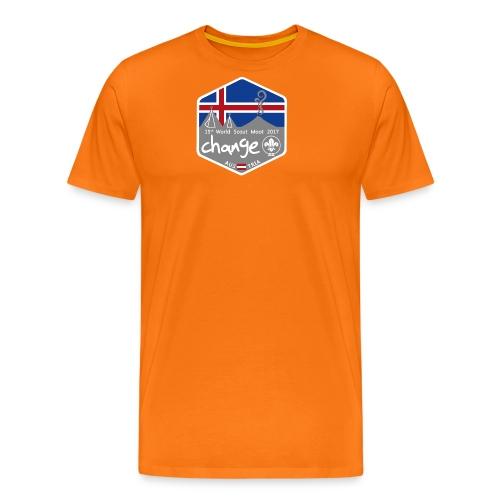 MootIsland Abzeichen - Männer Premium T-Shirt