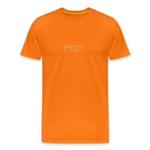 Trilain - Box Logo T - Shirt Black - Mannen Premium T-shirt