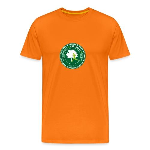 EARTHLETE Brand Logo - Herre premium T-shirt