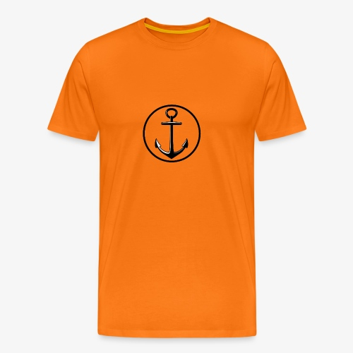 LOGO_anger - Herre premium T-shirt