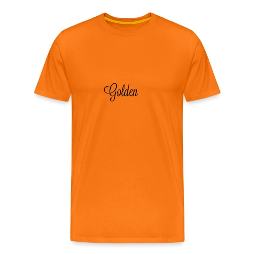 Basically basic - Herre premium T-shirt