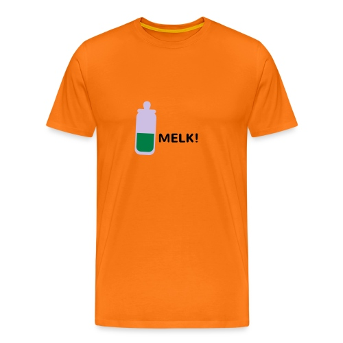 Grappige Rompertjes: Melk - Mannen Premium T-shirt