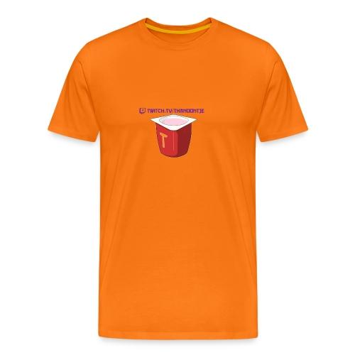 Snapback Thanoontje logo - Men's Premium T-Shirt