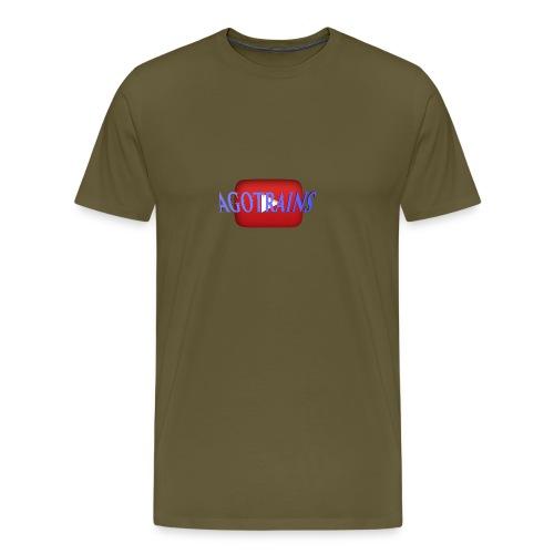 AGOTRAINS - Maglietta Premium da uomo