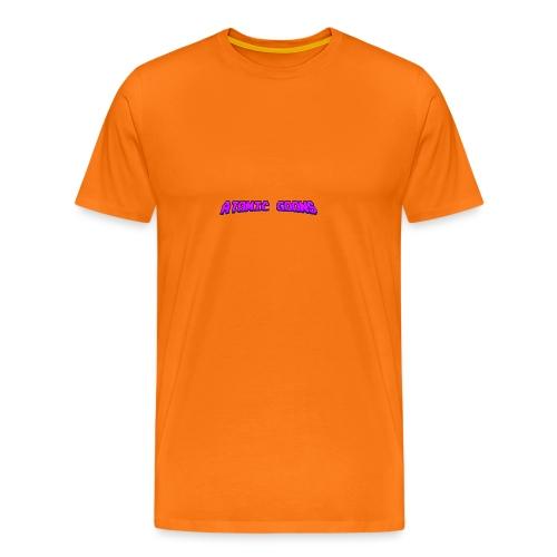 AG_Purple female - Premium T-skjorte for menn